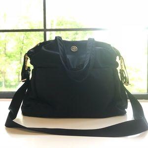 Tory Burch black baby bag